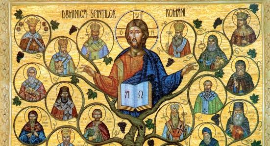 Sfinții – model de iubire dumnezeiască