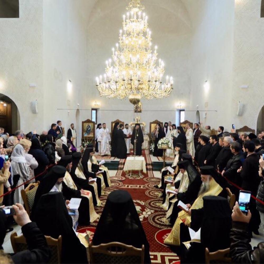 Slujba de Ipopsifiere a Arhiereului vicar ales al Episcopiei Spaniei şi Portugaliei