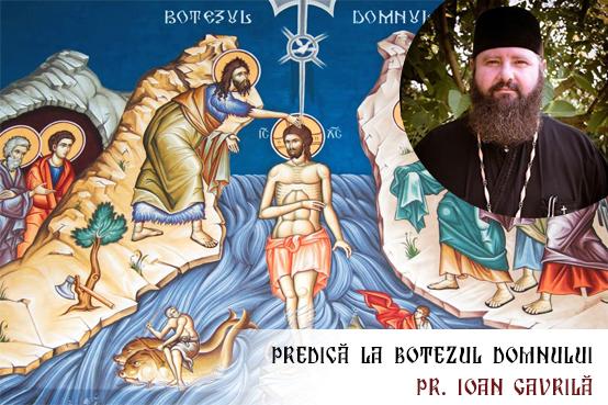 Predică la Botezul Domnului