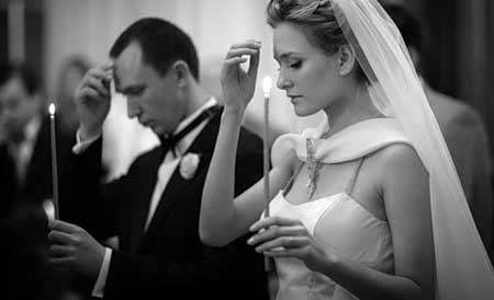 Legătura soților se face în Ceruri, pentru vecie